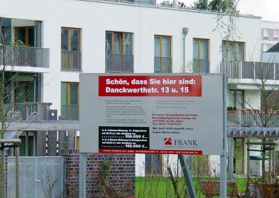 Elektrische Installationen im Neubau Mercatorwiese 5