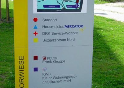 Elektrische Installationen im Neubau Mercatorwiese 4