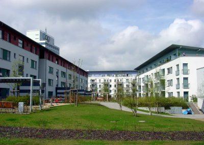 Elektrische Installationen im Neubau Mercatorwiese 1